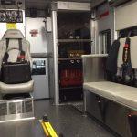 UVC Light On Ambulance Wall